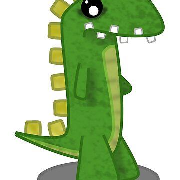 Green Dinosaur by 106films