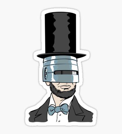 RoboPresident Sticker