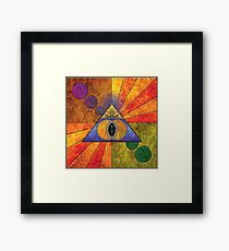 Teleportation Framed Print