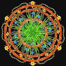 Mayan_Mandala - Antar Pravas 2011 - Visionary Art by AntarPravas
