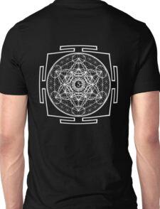 Metatron_Chakra_Yantra - Antar Pravas 2011 - Visionary Art Unisex T-Shirt