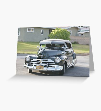 1947; Your ride to the prom 2011! Greeting Card