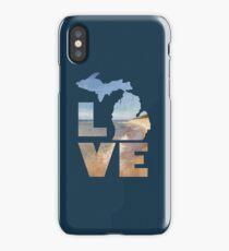 Love in Michigan iPhone Case