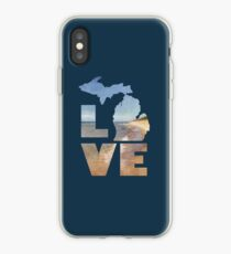 Love in Michigan iPhone Case