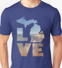Love in Michigan Unisex T-Shirt