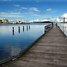 Albany's Old Jetty by Eve Parry