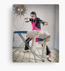 King of the Laundry Canvas Print