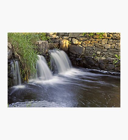 Falling Waters at Owen Mills Photographic Print