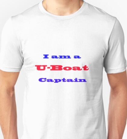 U-Boat Captain T-Shirt