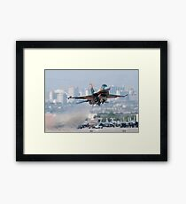Aggressor on the Way! Framed Print