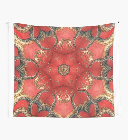 Dragon mandala Wall Tapestry