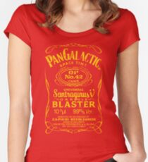 Pan Galactic Gargle Blaster - No. 42 [HONEY] Women's Fitted Scoop T-Shirt