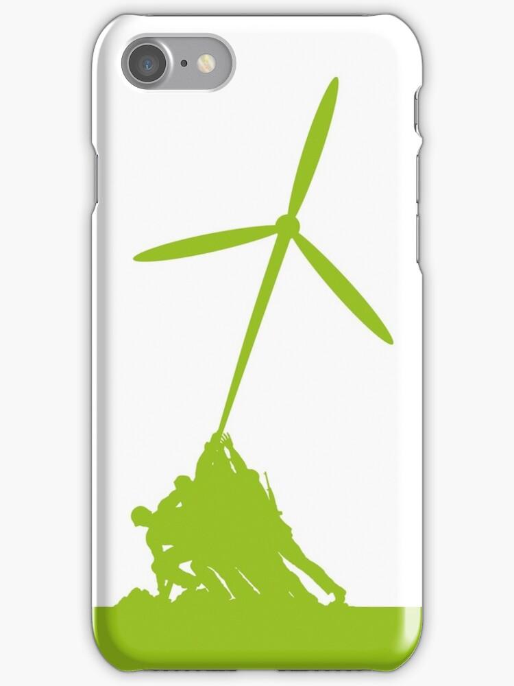 Raising wind turbines by KRDesign