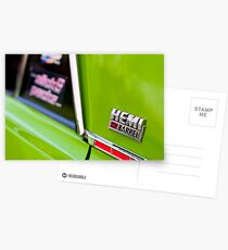 Green Pacer Hemi Postcards