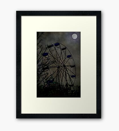 The Carnival is Over Framed Print