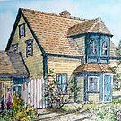 Cape House in Western Shore, Nova Scotia by Chris Jessup