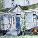 """Classic """"Valley"""" house in Wolfville, Nova Scotia by Chris Jessup"""