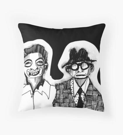 Smile Jack Throw Pillow