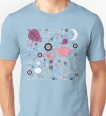 Flamingo & Chick  Unisex T-Shirt