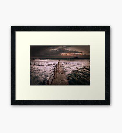 Mona Vale Ocean Pool Framed Print