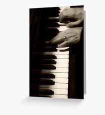 Forgetful Fingers Greeting Card