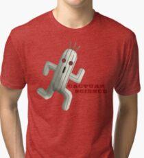Cactuar Science Tri-blend T-Shirt