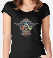 ark survival of the fittest  Women's Fitted Scoop T-Shirt