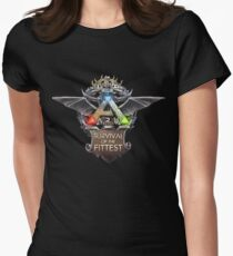 ark survival of the fittest  Womens Fitted T-Shirt