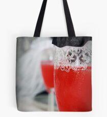 Wine Glass Wedding Tote Bag