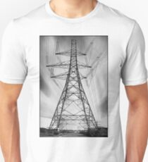 Magical Road Straddling Pylon, Littlebrook T-Shirt