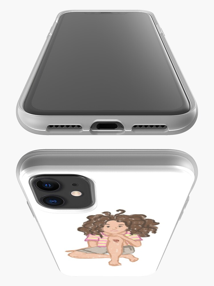 Alternate view of Girl Naive Tomboy Illustration iPhone Case & Cover