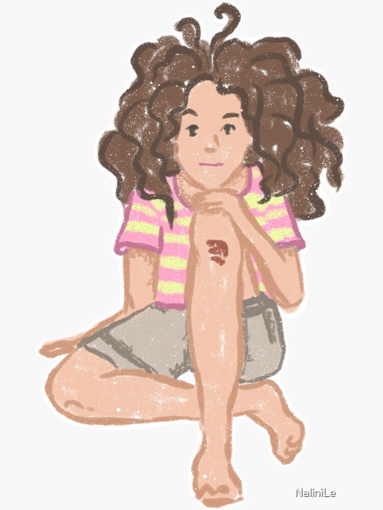 Girl Naive Tomboy Illustration by NaliniLe