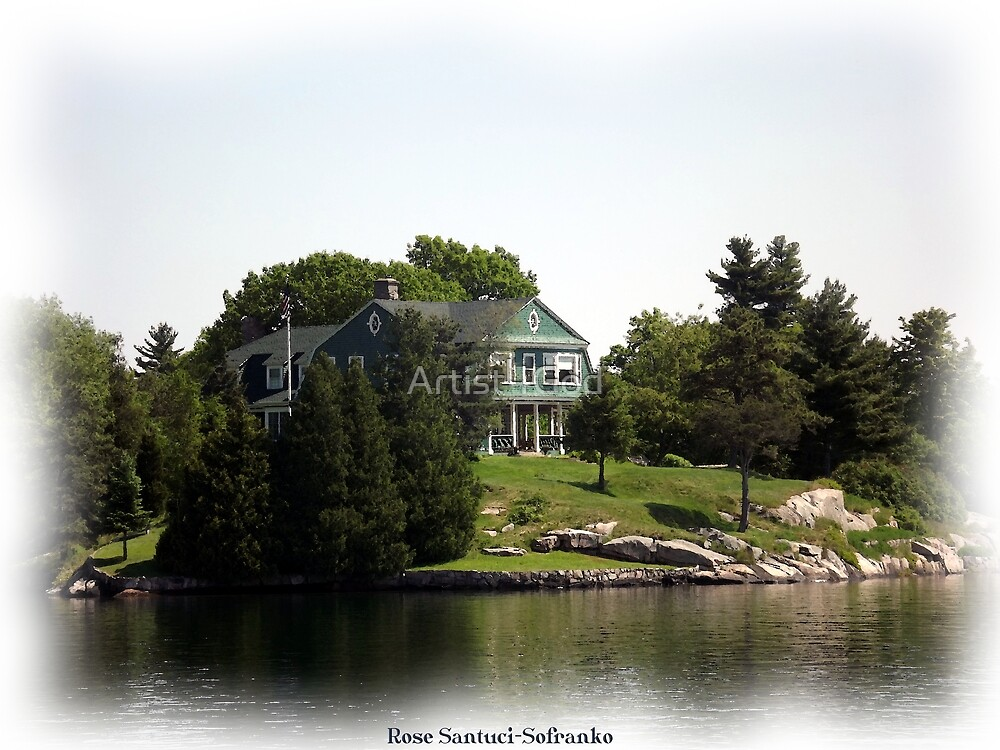 St. Lawrence Seaway/Thousand Islands #24 by Rose Santuci-Sofranko