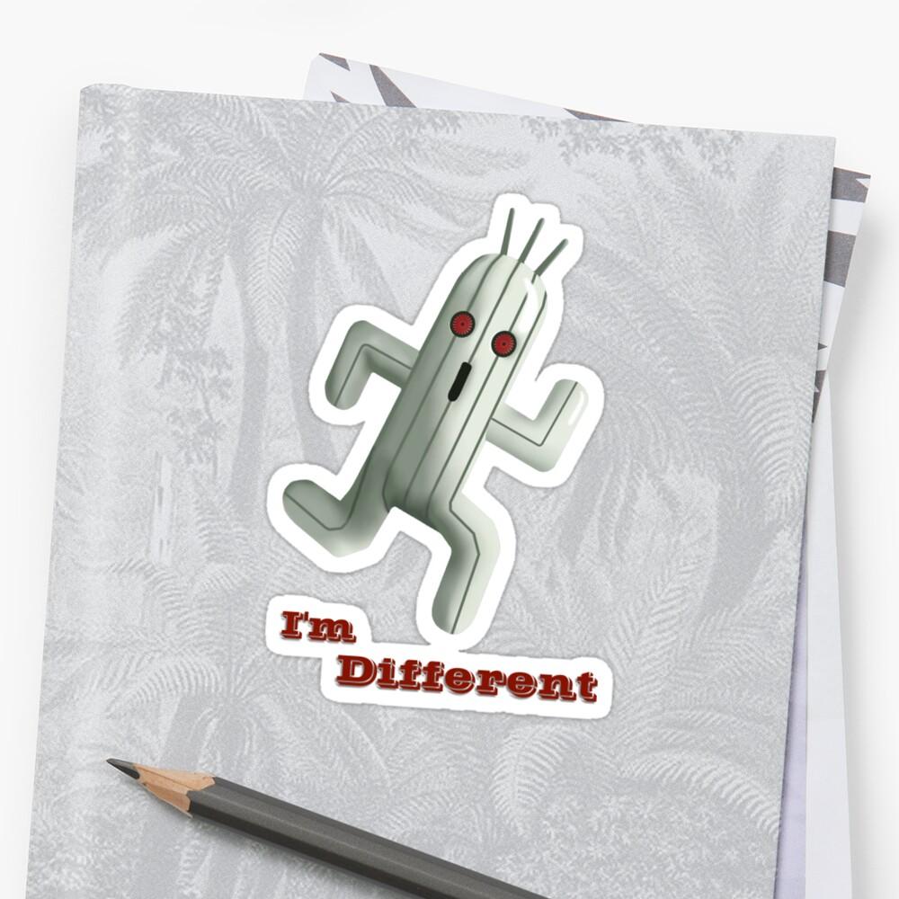 I'm Different by Alexandre Bonneau