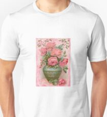 Old Fashioned Rose Bouquet Unisex T-Shirt