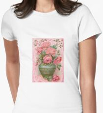 Old Fashioned Rose Bouquet T-Shirt