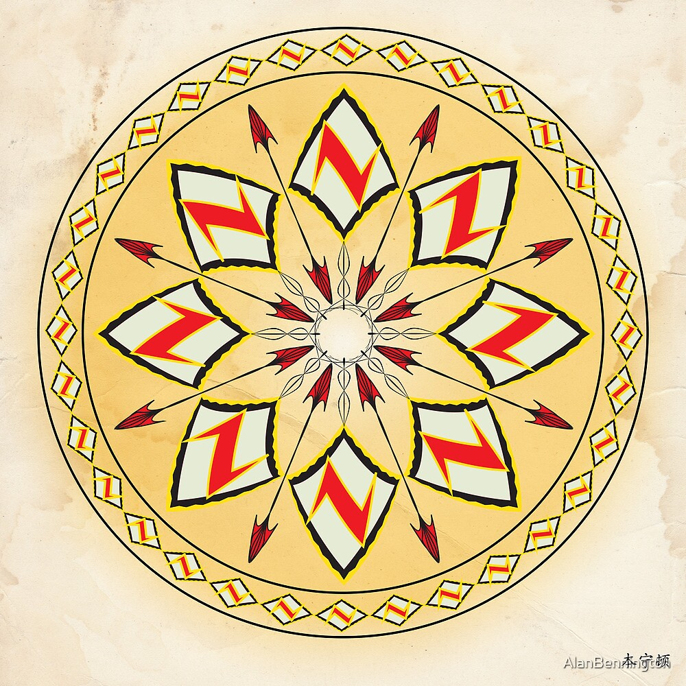 Mandala No. 99 by AlanBennington
