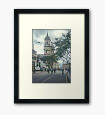 Cathedral at Historic Center of Bogota Colombia Framed Print
