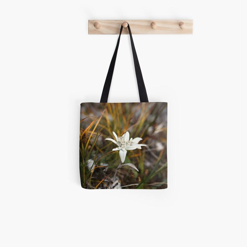 Alpine Edelweiss Tote Bag