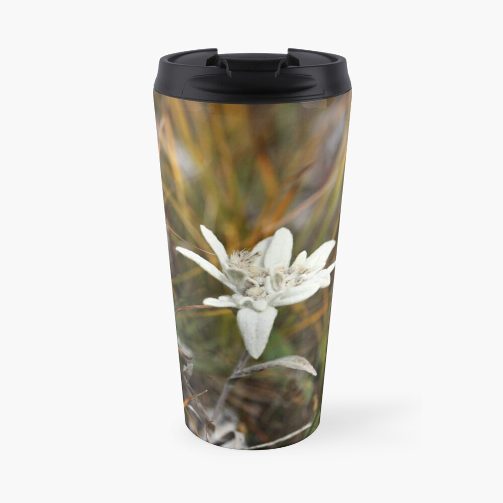 Alpine Edelweiss Travel Mug