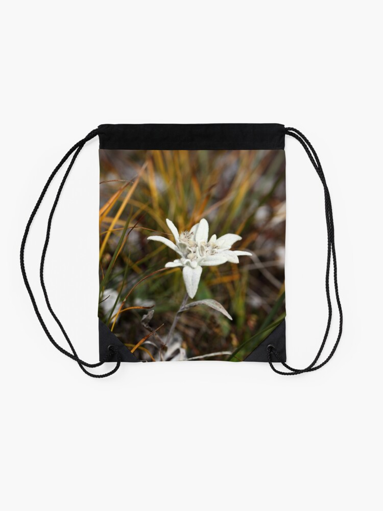 Alternate view of Alpine Edelweiss Drawstring Bag