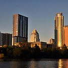 Downtown Austin, Texas at Sunset by ArtCooler
