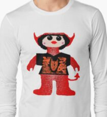 Little Devil In Disguise Rag Doll Long Sleeve T-Shirt