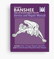 Banshee Service and Repair Manual Canvas Print