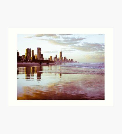 The Gold Coast Australia Art Print
