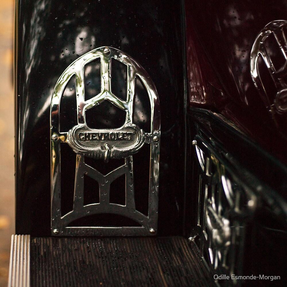 Auto badge, 1927 Chevrolet by Odille Esmonde-Morgan