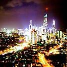 Gold Coast at Night by Jason Dymock Photography