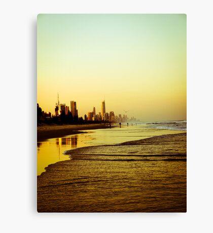 The Golden Coast Canvas Print