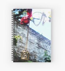 Jail and Rose Spiral Notebook
