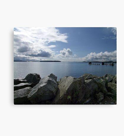 Quiet Day on Saanichton Bay Canvas Print